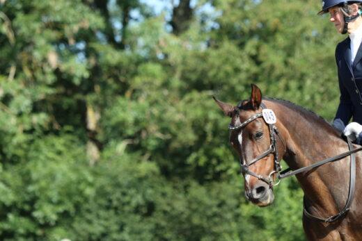 Coralina and Fiona Ambrose at the British Riding Club Regional Finals July 2021